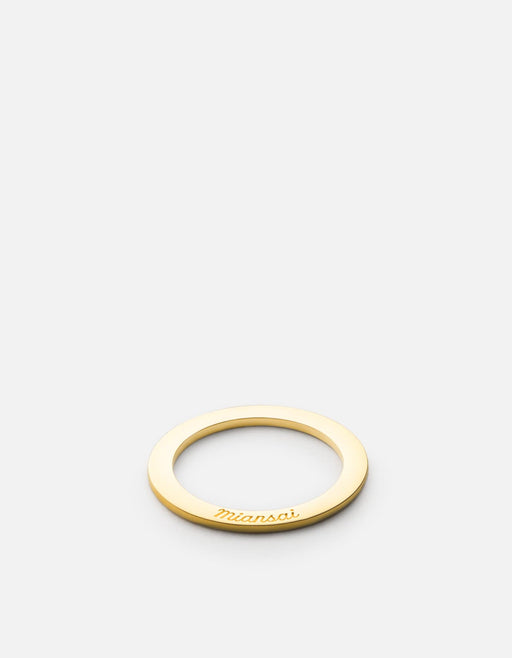 Washer Ring, Gold Plated | Women's Rings | Miansai