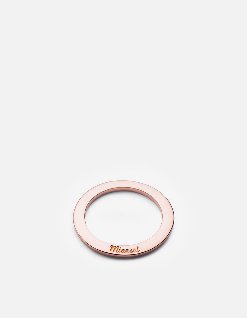 Washer Ring, Rose Plated