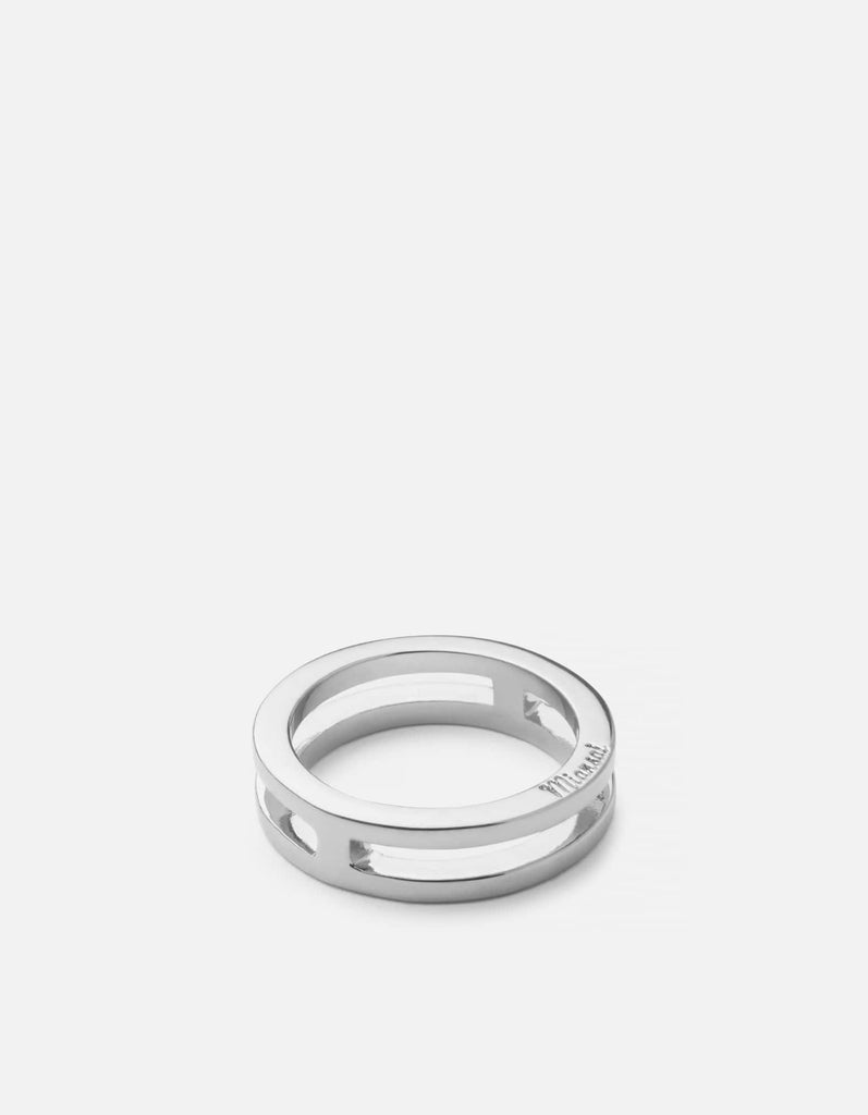 Split Layer Ring, Sterling Silver | Women's Rings | Miansai