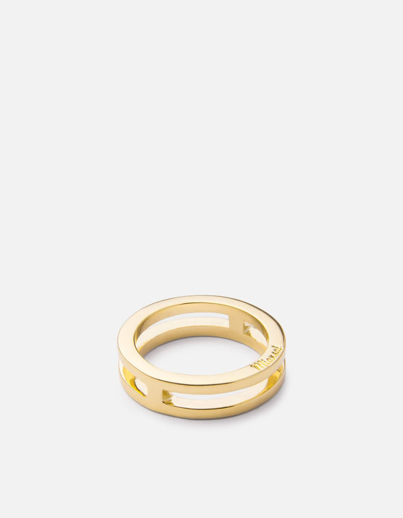 Split Layer Ring, Gold Plated | Women's Rings | Miansai