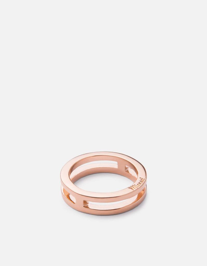 Split Layer Ring, Rose Plated | Women's Rings | Miansai