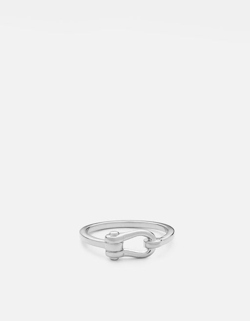 Miansai - D-Link Ring, Sterling Silver