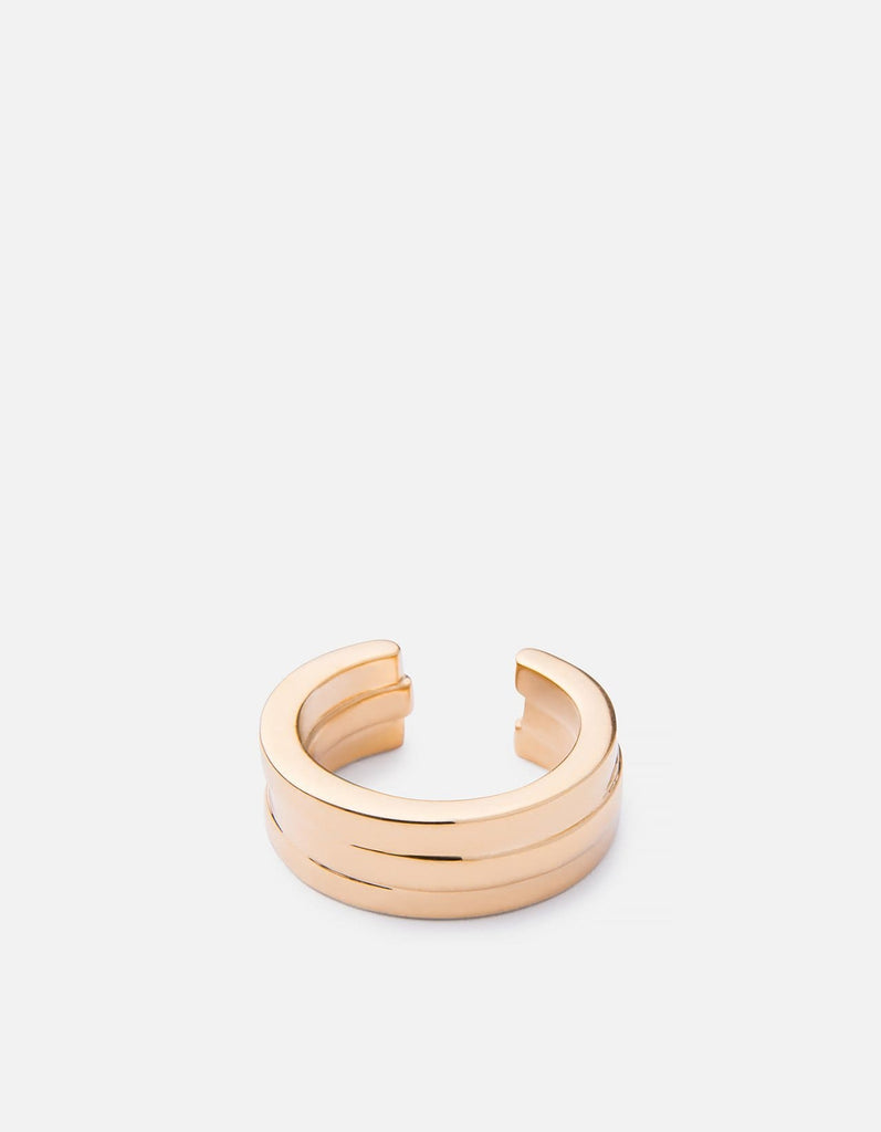 Miansai - Layered Ring, Gold Plated