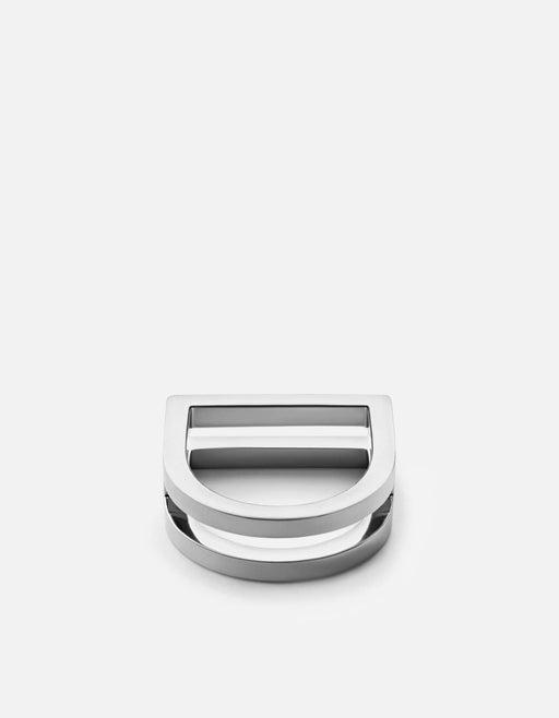 Square Bar Ring, Sterling Silver | Women's Rings | Miansai