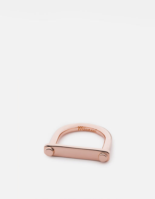 Tension Ring, Rose Gold Plated | Women's Rings | Miansai