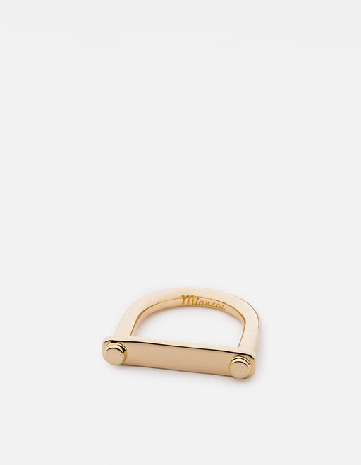 Tension Ring, Gold Plated | Women's Rings | Miansai