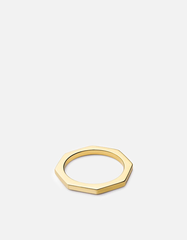Miansai - Bly Ring, Gold Vermeil
