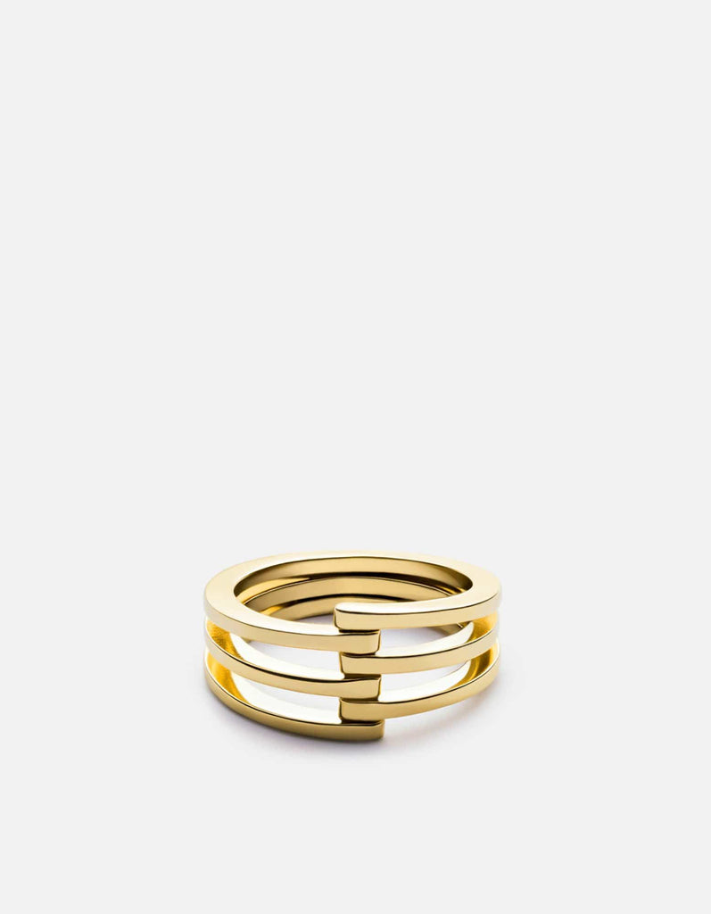 Miansai - Offset Ring, Gold