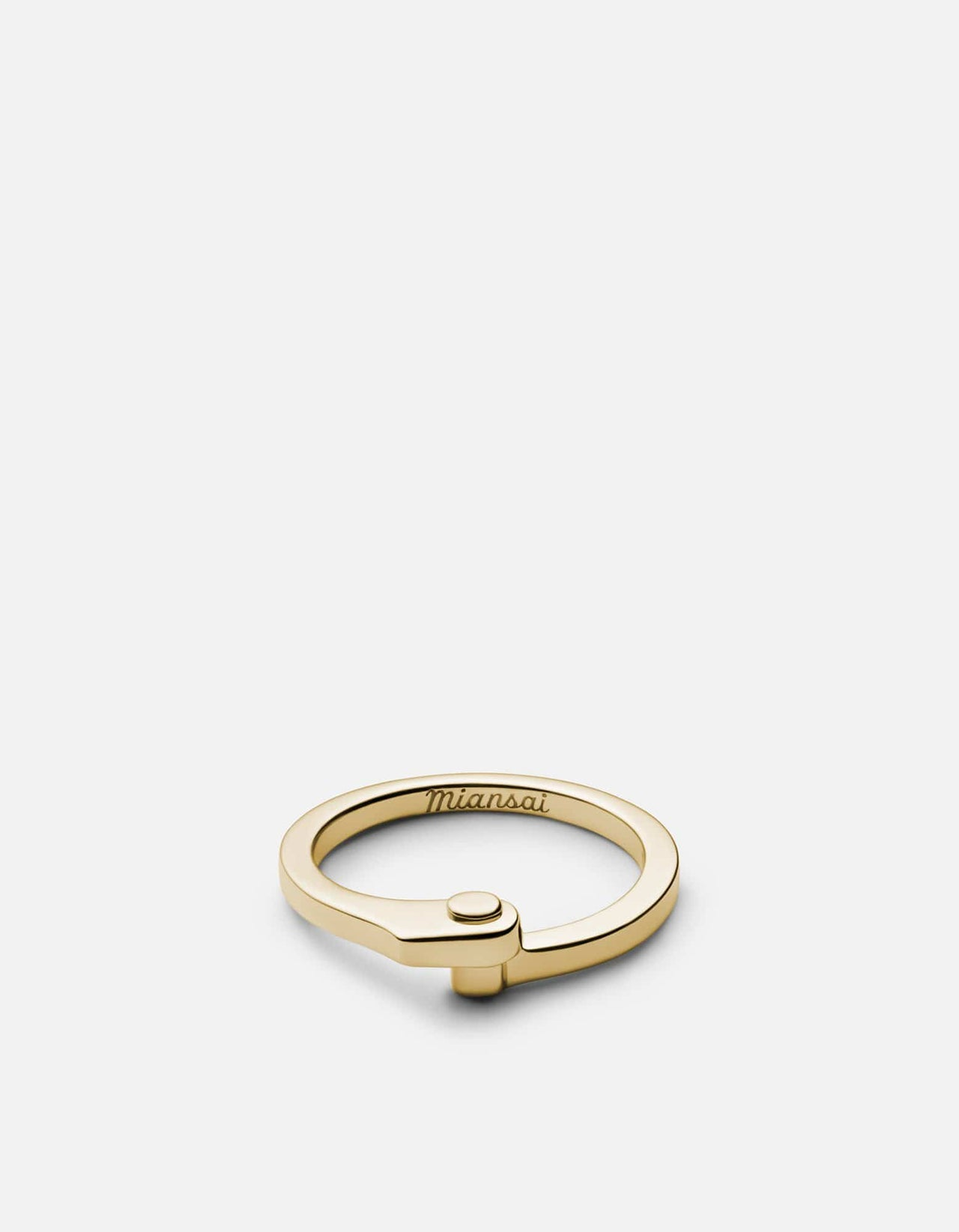 Miansai Nyx Ring Gold Plated