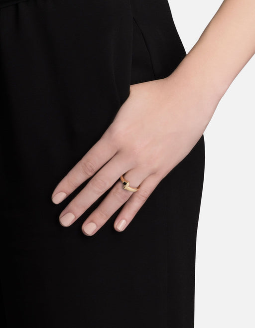 Nyx Ring, Gold Plated, Polished | Women's Rings | Miansai