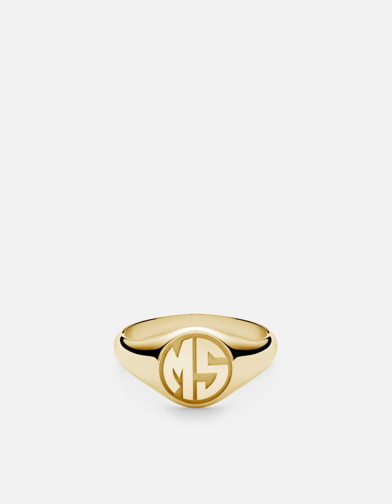 Miansai - Signet Ring, 14k Gold