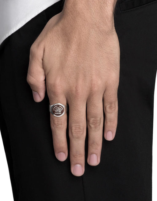 Viñales Cigar Band Ring, Sterling Silver | Men's Rings | Miansai