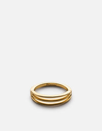 Miansai - Trade Ring, Gold Vermeil