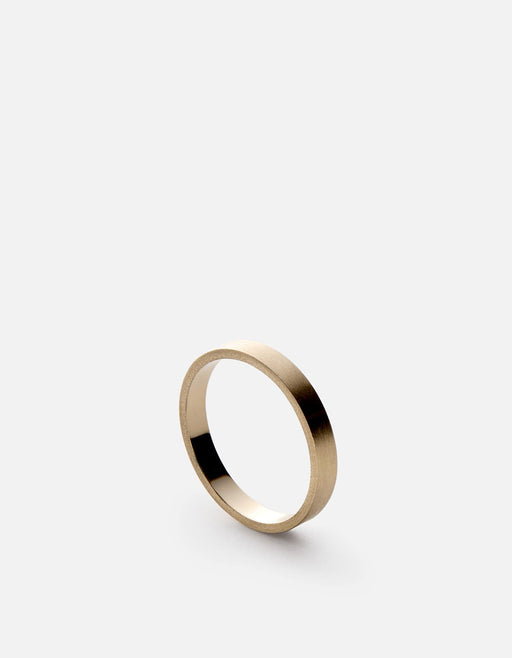 Miansai - 3mm Gold Band, 14K Gold