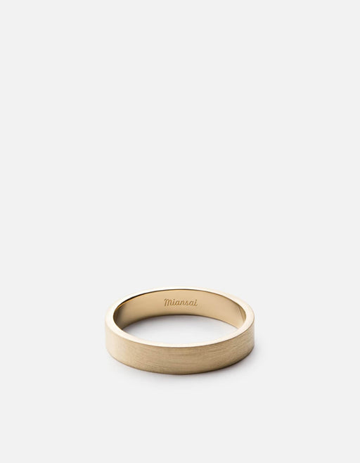 Miansai - 4mm Gold Band, 14K Gold