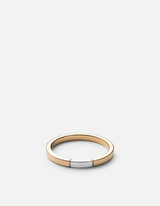 Panel Ring, Gold/Silver, Polished | Women's Rings | Miansai