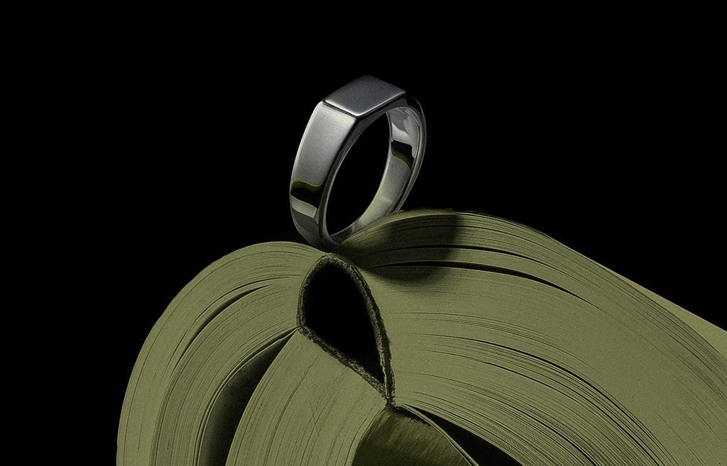 Men's Rings - Geo Signet Ring