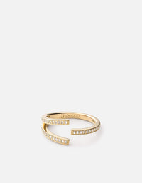 Orbit Ring, Gold Vermeil/Sapphire | Women's Rings | Miansai
