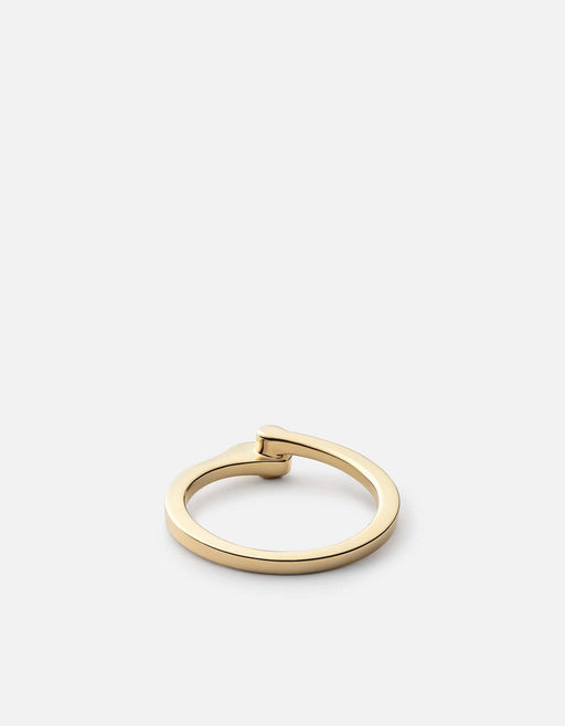 Miansai - Nyx Ring, 14k Gold Pavé