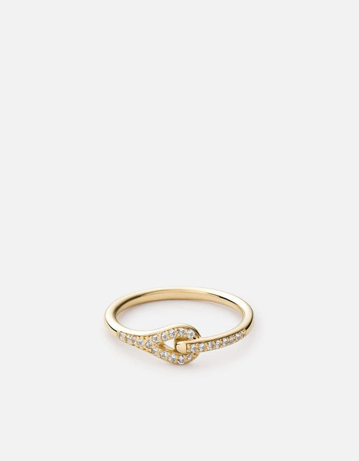 Neo Ring, Gold Vermeil/Sapphire | Women's Rings | Miansai