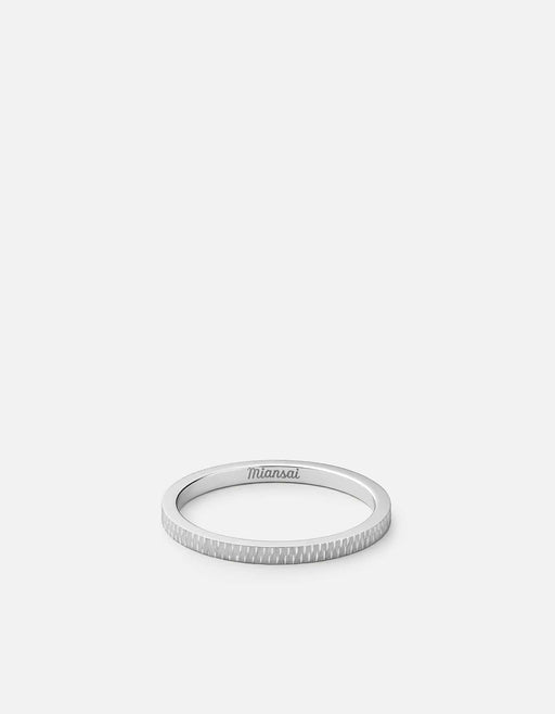 Miansai - Verge Ring, Sterling Silver