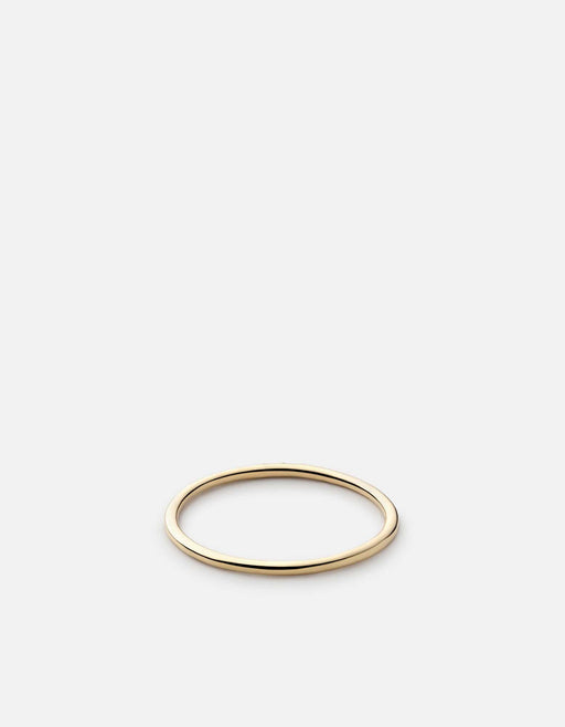 Miansai - Trinity Ring, 14k Gold Pavé