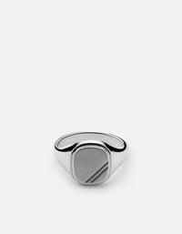 Square Step Ring, Sterling Silver | Men's Rings | Miansai
