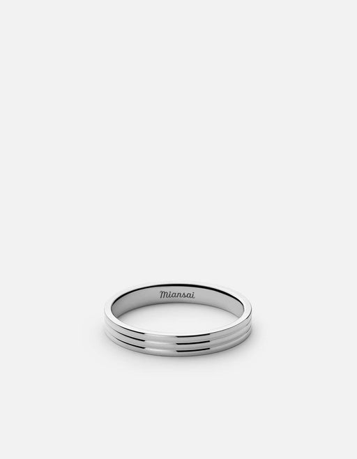 Stag Ring, Sterling Silver | Men's Rings | Miansai