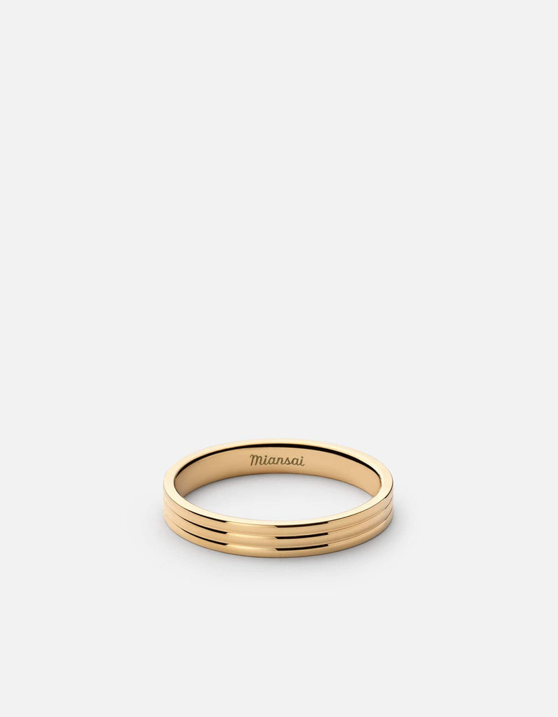Stag Ring, Gold Vermeil | Men's Rings | Miansai
