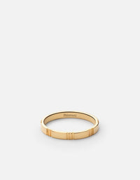 Bolt Ring, Gold Vermeil, Polished - Miansai
