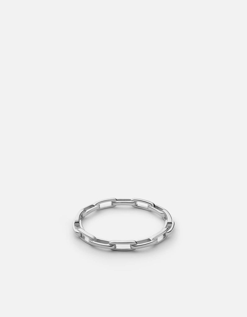 Volt Link Ring, Sterling Silver - Miansai