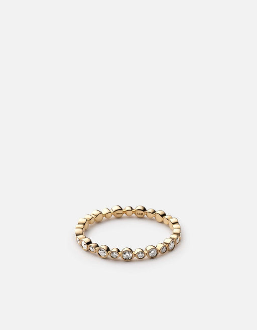 Apollo Ring, 14k Yellow Gold w/Pave - Miansai