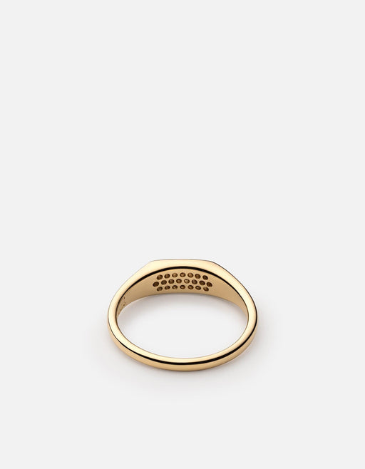 Pax Ring, Gold Vermeil/Sapphire | Women's Rings | Miansai
