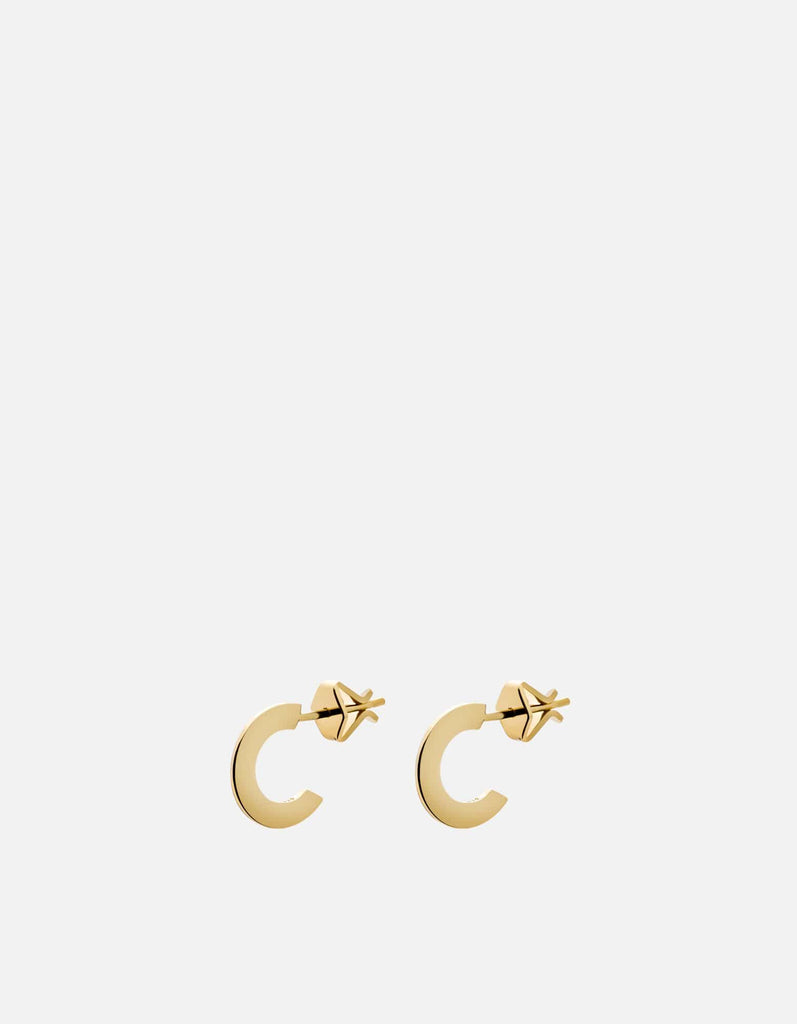 Miansai - Arduin Earrings, Gold Vermeil