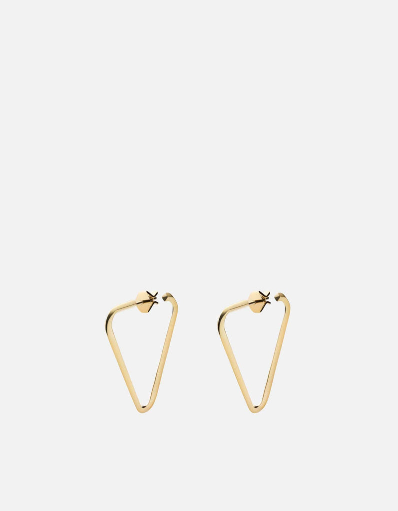 Eden Earrings, Gold Vermeil
