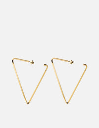 Miansai - Eden Earrings, Gold Vermeil