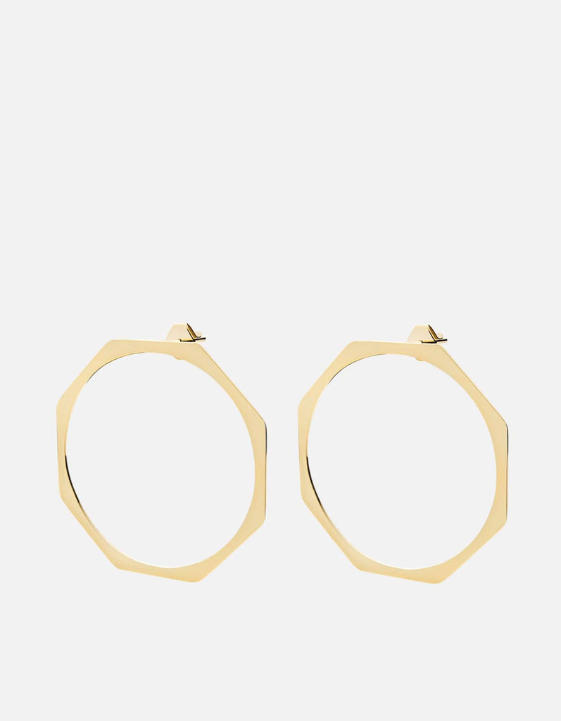 Ponti Earrings, Gold Vermeil, Large | Women's Earrings | Miansai