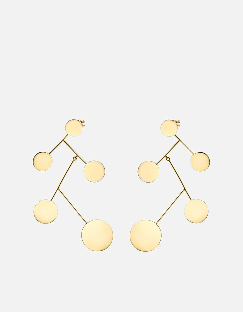 Xander Earrings, Gold Vermeil, Polished | Women's Earrings | Miansai