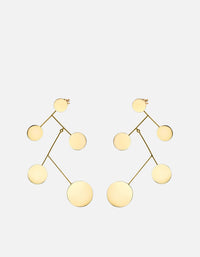 Miansai - Xander Earrings, Gold Vermeil