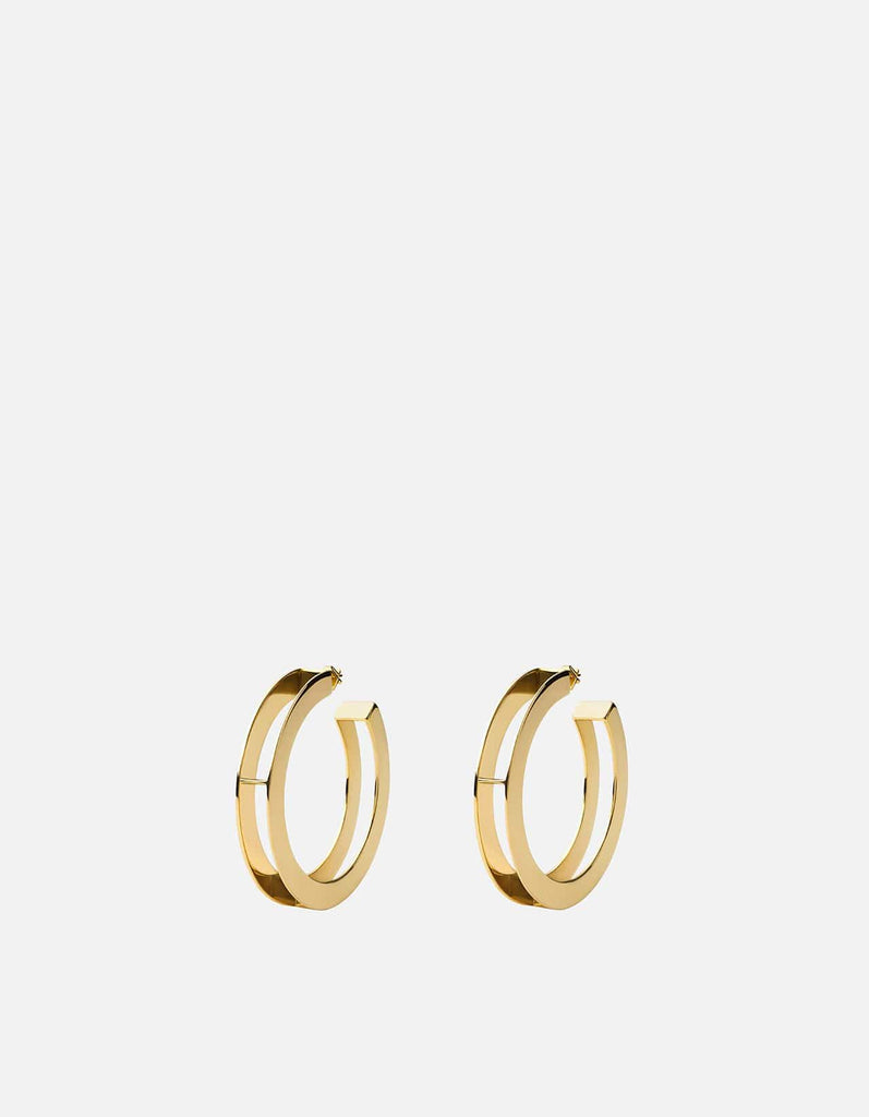 Opus Earrings, Gold Vermeil, Polished | Women's Earrings | Miansai