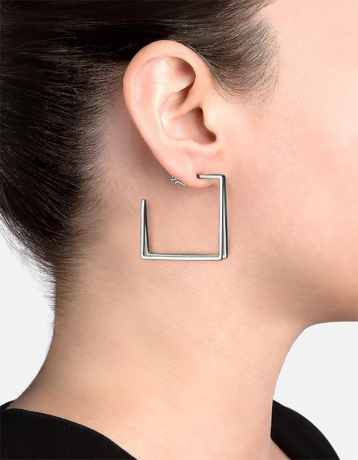 Miansai - Axis Earrings, Sterling Silver