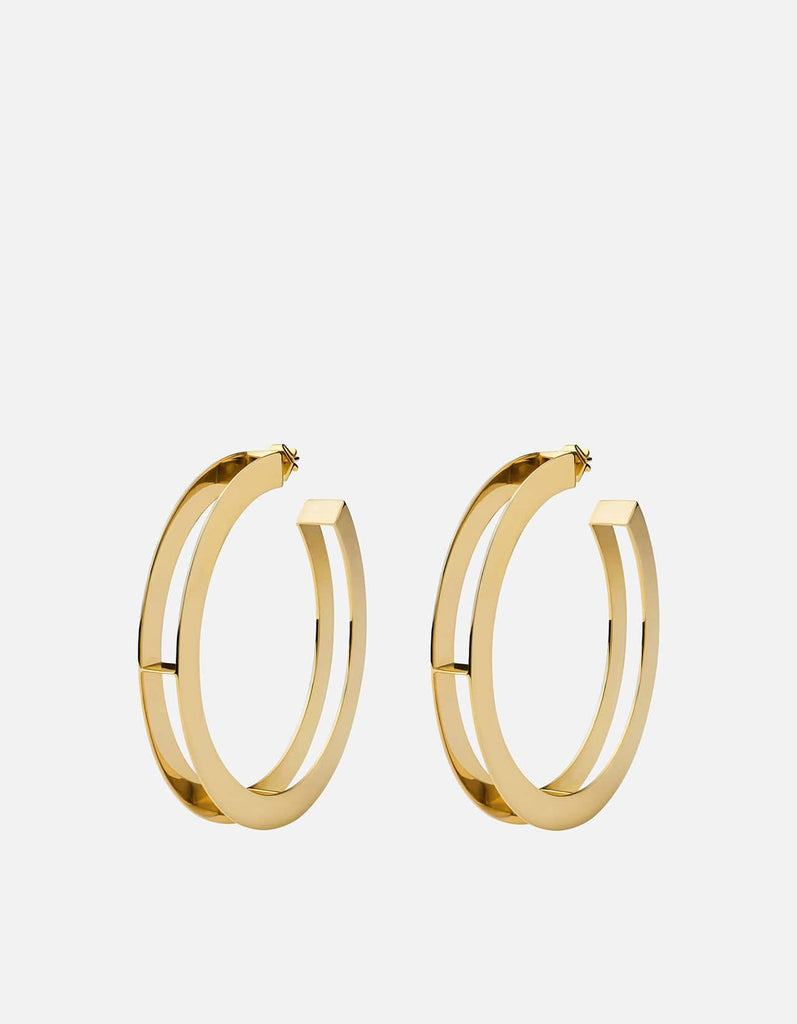 Opus Earrings, Gold, Polished | Women's Earrings | Miansai