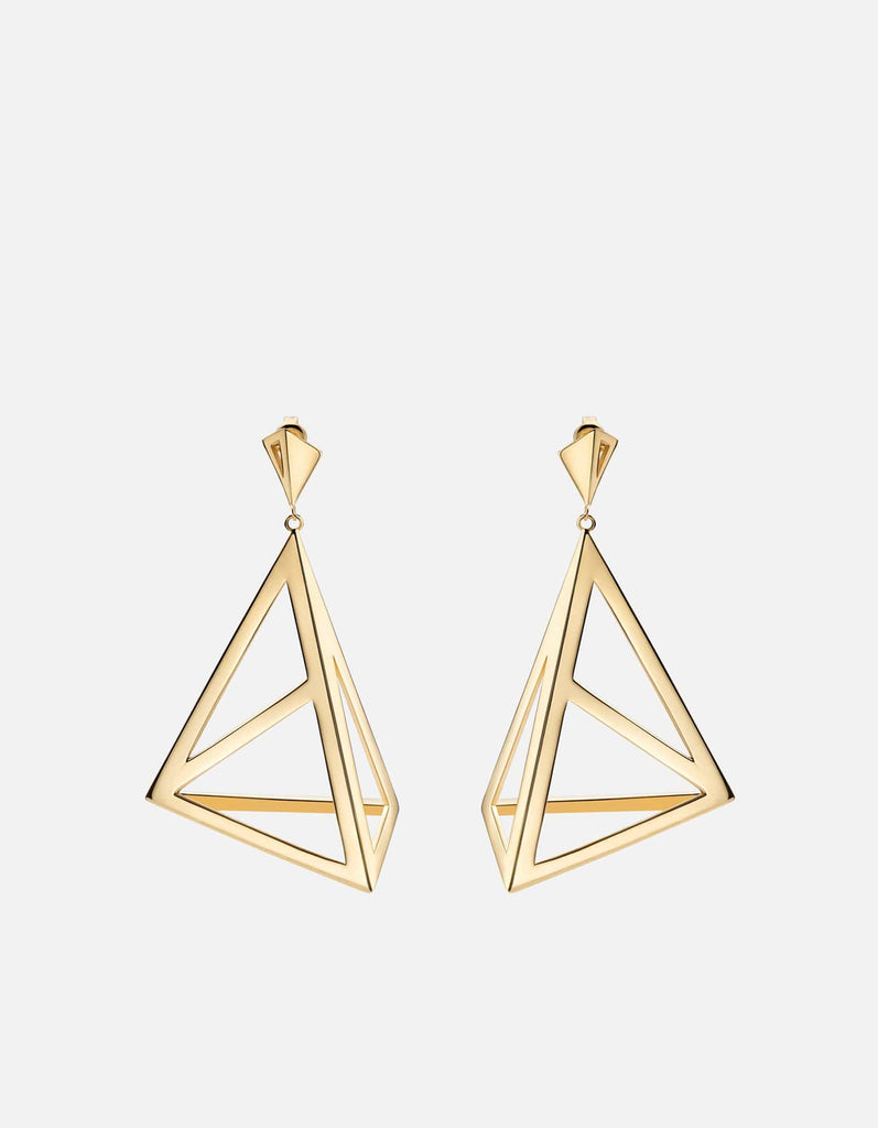 Miansai - Apex Earrings, Gold