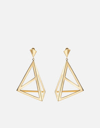 Apex Earrings, Gold Plated, Polished | Women's Earrings | Miansai