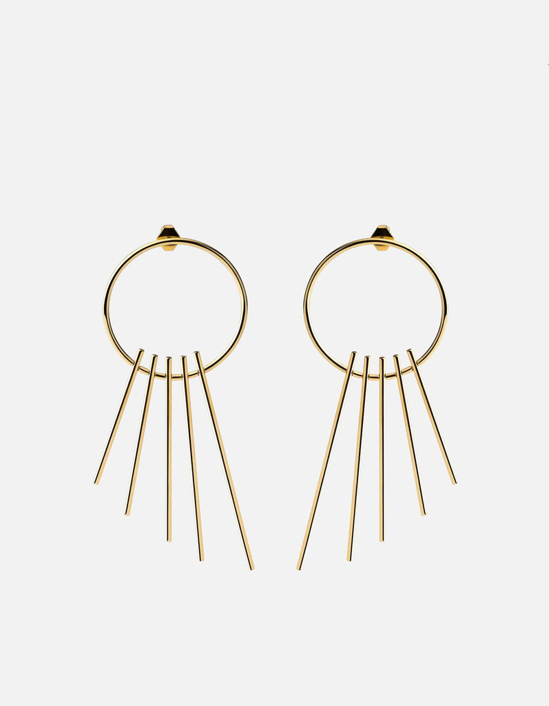 Miansai - Apogee Earrings, Gold
