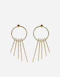 Apogee Earrings, Gold, Polished | Women's Earrings | Miansai