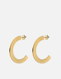 Celeste Hoops, Gold Vermeil, Polished | Women's Earrings | Miansai