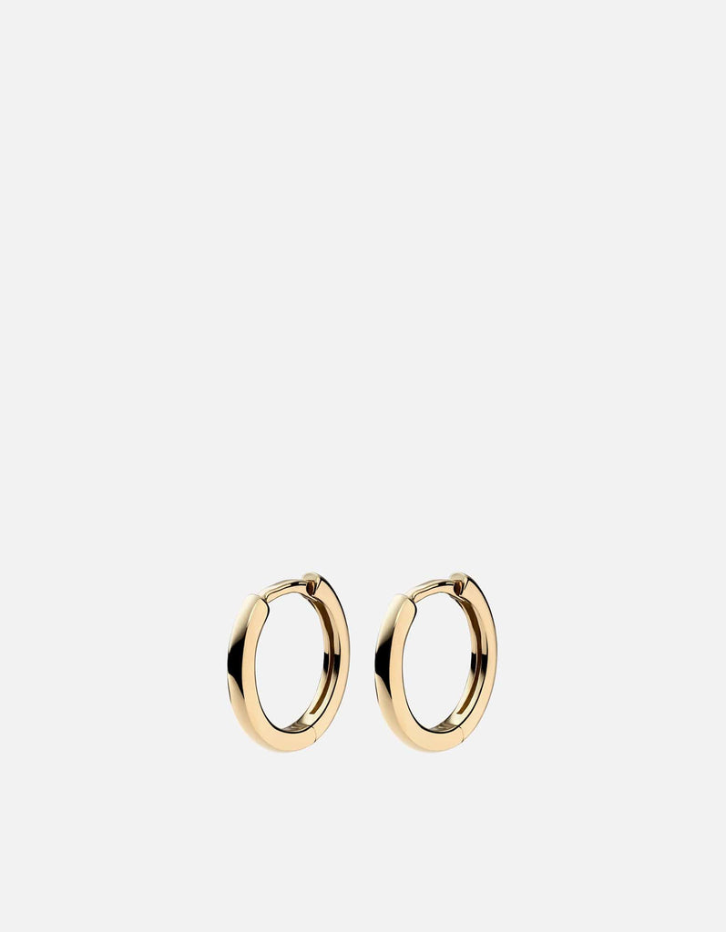 Miansai - Aeri Huggie Earrings, 14k Gold