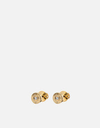 Mini Rey Studs, 14k Gold Pavé | Mommy & Me | Miansai