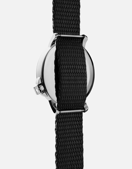 Miansai - M12 Swiss Silver Black Nylon